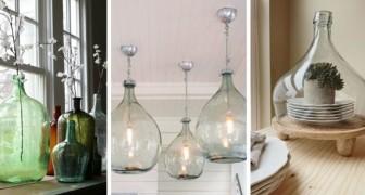 9 propositions brillantes pour recycler les bonbonnes et les transformer en de fascinants objets design
