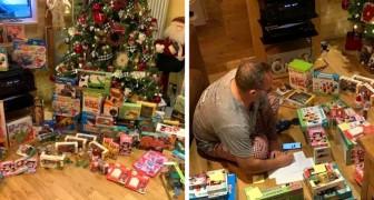 Un imprenditore generoso compra tutti i giocattoli di un negozio per donarli ai bambini più bisognosi del suo quartiere
