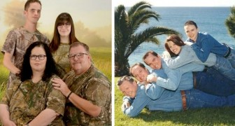 17 familiefoto's die zo gênant zijn dat het misschien beter was om ze in de doos met herinneringen te laten liggen