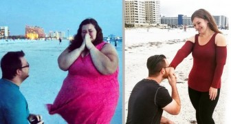20 photos of before and after transformations show that with commitment and courage anything is possible