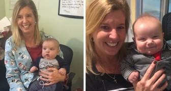 Infermiera adotta il bimbo, con una rara condizione cardiaca, di cui si è presa cura in ospedale