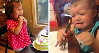15 foto mostrano bambini piangere per i capricci più assurdi ed esilaranti