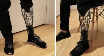 Diese 3D-gedruckte Prothese ist billiger und leichter als herkömmliche: Sie sieht aus wie ein echtes Bein