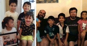 A same sex couple adopt 4 siblings from an orphanage: They will be our children forever