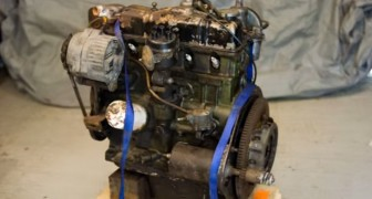 A man buys an old engine on ebay and what he does is a real MIRACLE !