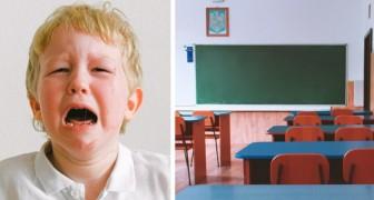 Le garçon de 4 ans est le seul de la classe à ne pas avoir de cadeau de Noël : il est puni par les professeurs parce qu'il est trop agité