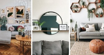 11 idées géniales pour décorer le mur au-dessus du canapé
