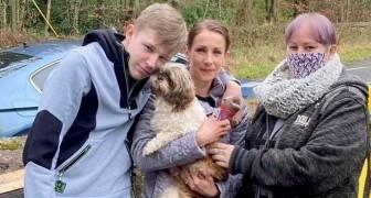 Sie dachten, er wäre überfahren worden, dann finden sie ihren Hund 8 Jahre später aus purem Zufall wieder