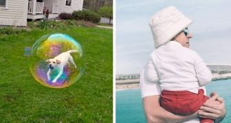 15 foto's gemaakt met perfecte timing bewijzen dat de realiteit niet altijd is wat het lijkt