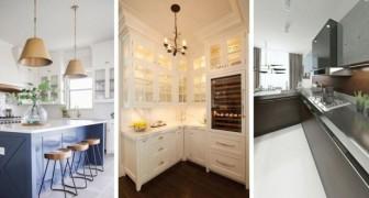 11 solutions brillantes pour éclairer la cuisine de façon belle et efficace