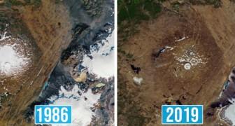 12 immagini della NASA descrivono meglio di mille parole gli effetti devastanti dei cambiamenti climatici