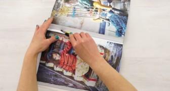 Veja como fazer algo muito legal com uma página de revista