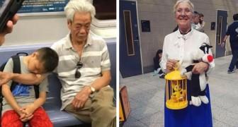 17 grands-parents qui, par leurs petits gestes, ont révélé un amour inconditionnel pour leurs petits-enfants