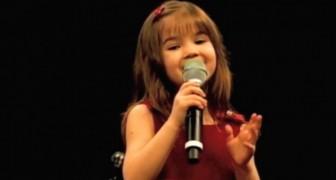 Questa bambina di soli 5 anni canta l'Ave Maria come non vi aspettereste mai