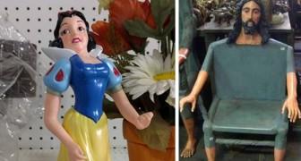 18 des objets les plus drôles et les plus bizarres que les gens ont trouvés dans les marchés aux puces