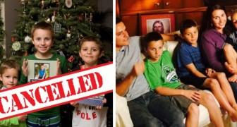As crianças continuam a se comportar mal, então os pais cancelam o Natal para lhes dar uma lição