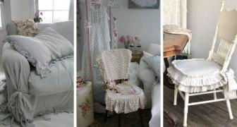 11 idee da cui trarre spunto per decorare sedie, divani e poltrone in perfetto stile shabby chic