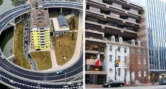20 mensen die weigerden hun eigendommen te verkopen om plaats te maken voor wegen en gebouwen