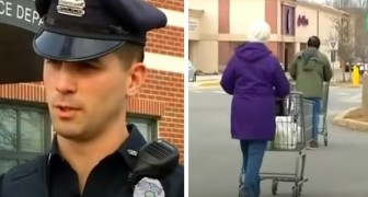 Zwei arme Mütter werden beim Stehlen von Essen im Supermarkt erwischt: Der Polizist bezahlt für sie den Einkauf
