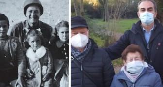 Um soldado americano encontra as 3 crianças com quem tinha tirado uma foto durante a Segunda Guerra Mundial: um encontro emocionante