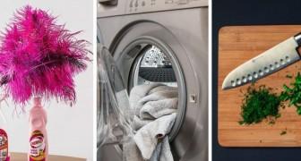 8 errori da evitare quando si fanno le pulizie di casa