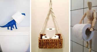 10 brillanti spunti di fai-da-te per creare porta rotoli di carta igienica dal design originale