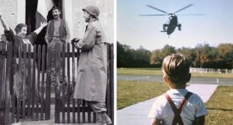20 historische Fotos zeichnen die Ereignisse der Vergangenheit nach und lassen uns die Welt aus einer anderen Perspektive betrachten