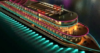 Questa nave elettrica che arriva dalla Cina è la più grande imbarcazione da crociera a zero emissioni mai costruita