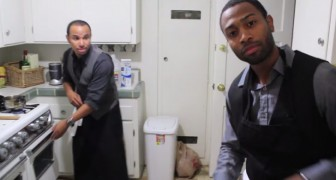 The reason why these two guys are cooking is very emotional !