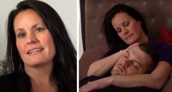 Ela recebe 80 dólares por hora para fazer carinho em estranhos e ajudar a aliviar o estresse