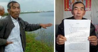 Un contadino studia legge da autodidatta per portare in tribunale l'azienda che ha inquinato il suo terreno