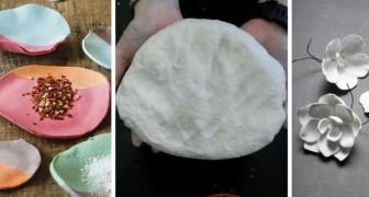 Il metodo per preparare in casa l'argilla con la carta igienica e gli spunti per usarla