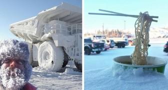 15 Fotos zeigen, wie schwierig, aber faszinierend es sein kann, dem Winter bei eisigen Temperaturen zu begegnen