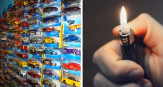 A wife sets fire to her husband's collection of toy cars because she considers it a waste of money