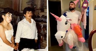 Nos parents à 20 ans VS ce que nous sommes aujourd'hui : 12 comparaisons de photos amusantes
