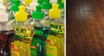 Gli usi del sapone per i piatti da evitare quando facciamo le pulizie