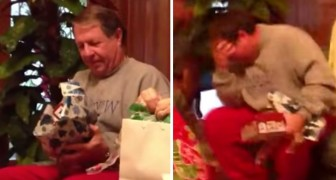 Grandpa opens a gift he NEVER expected... His reaction will leave you in tears!