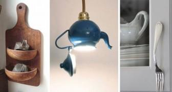 10 progetti di riciclo creativo per dare nuova vita a vecchi utensili e accessori da cucina