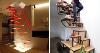 15 exemples d'escaliers si absurdes que nous doutons de la lucidité des personnes qui les ont conçus