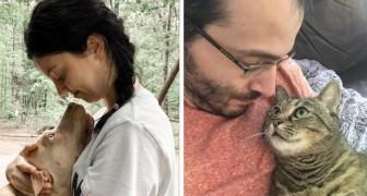 20 photos émouvantes montrent pourquoi on dit qu'un animal change la vie