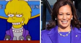 Die prophetische Kraft der Simpsons: Im Jahr 2000 wurde Lisa als Kamala Harris verkleidet US-Präsidentin