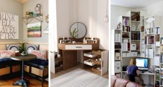 11 mobili fantastici da cui trarre spunto per arredare in modo bello e funzionale gli angoli delle stanze