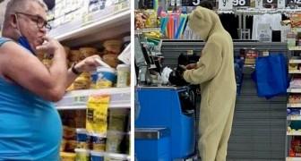 17 clienti del supermercato che hanno decisamente travisato il significato di decenza e buon gusto