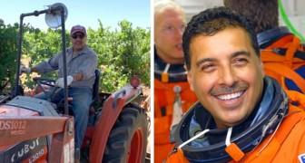 Da umile agricoltore ad astronauta: il successo di quest'uomo dimostra che nessun sogno è troppo grande