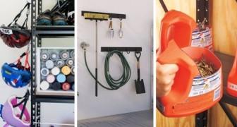15 soluzioni super-pratiche per organizzare in modo efficiente utensili e attrezzi in garage