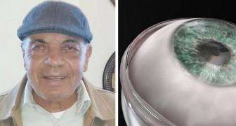 Weltweit erste künstliche Hornhauttransplantation durchgeführt: 78-jähriger blinder Mann erhält sein Augenlicht zurück