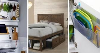 10 utilissime soluzioni salvaspazio tutte da sfruttare nelle case di piccole dimensioni