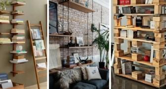 10 astuces irrésistibles pour meubler de façon créative en utilisant des bibliothèques et des étagères