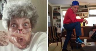 17 foto mostrano come i nonni possano essere più divertenti e tosti dei loro nipoti