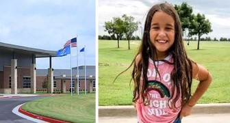 Questa bimba di 8 anni è stata espulsa da scuola perché ha una cotta per una sua compagna di classe